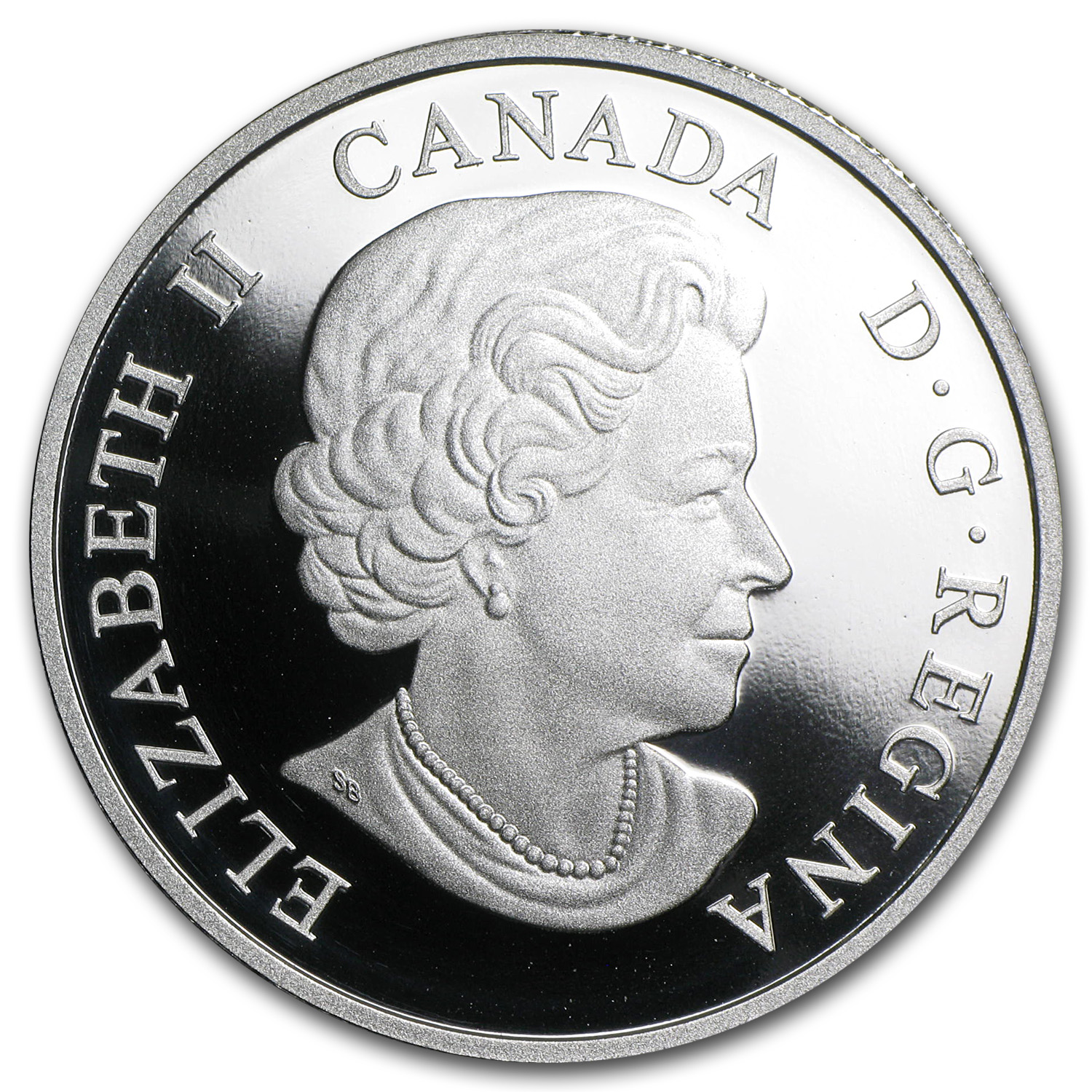 2014 1 oz Silver Canadian $20 Coin - Iconic Polar Bear