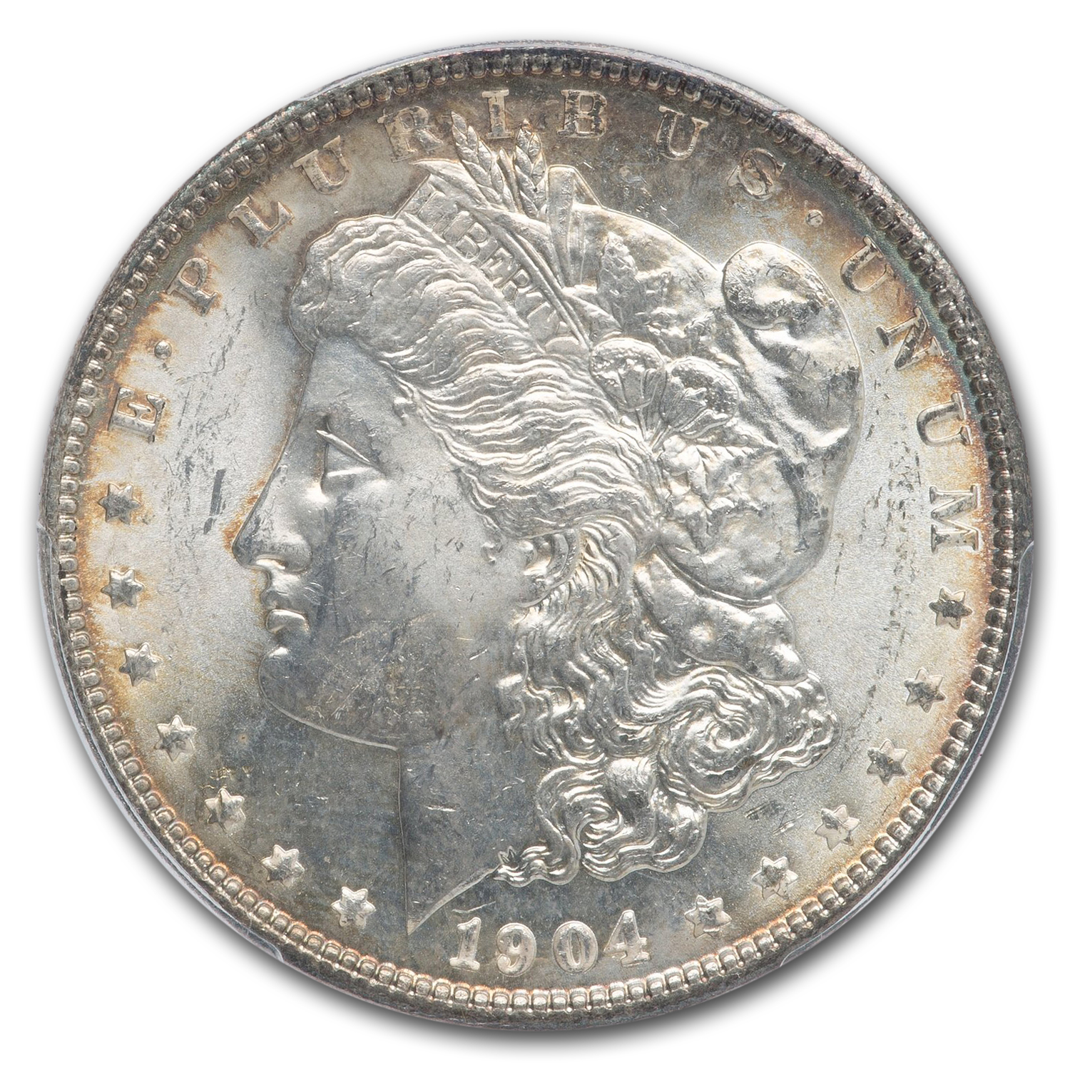1904 Morgan Dollar MS-64+ Plus PCGS CAC