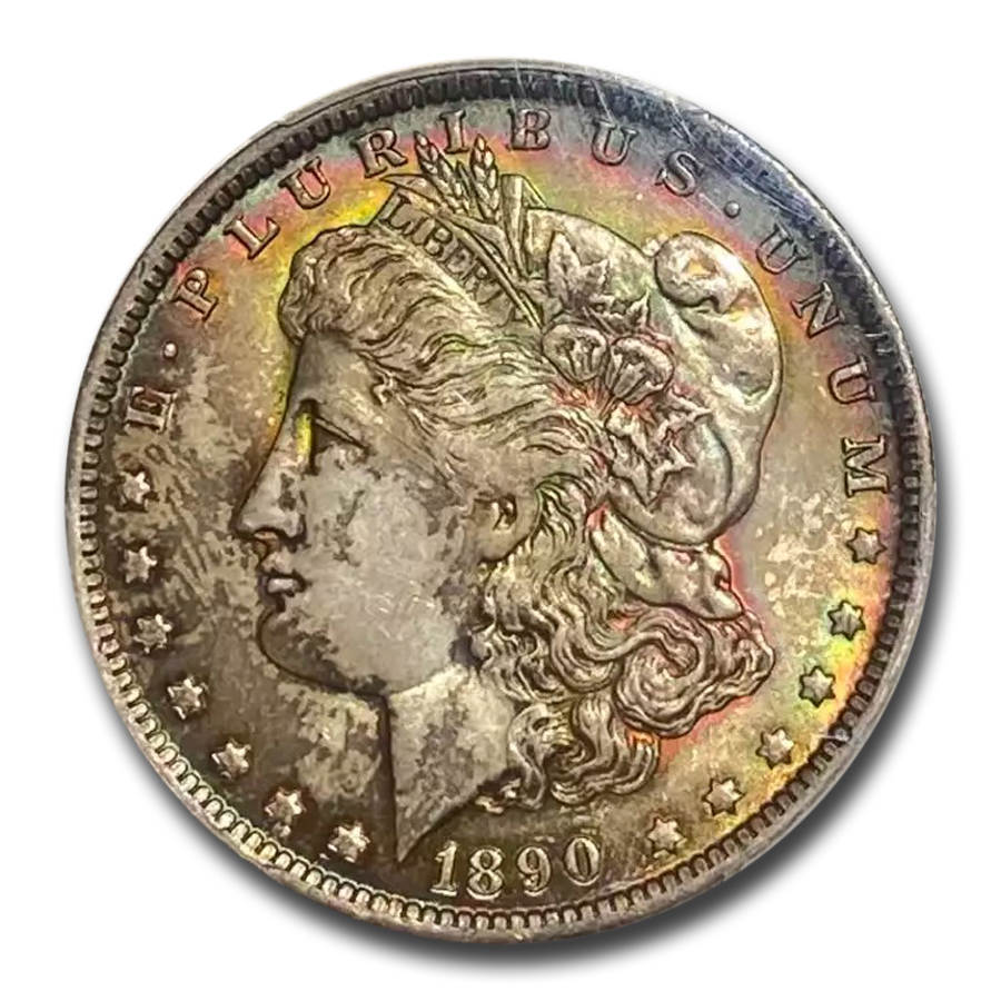 1890-O Morgan Dollar MS-64+ Plus PCGS (CAC)