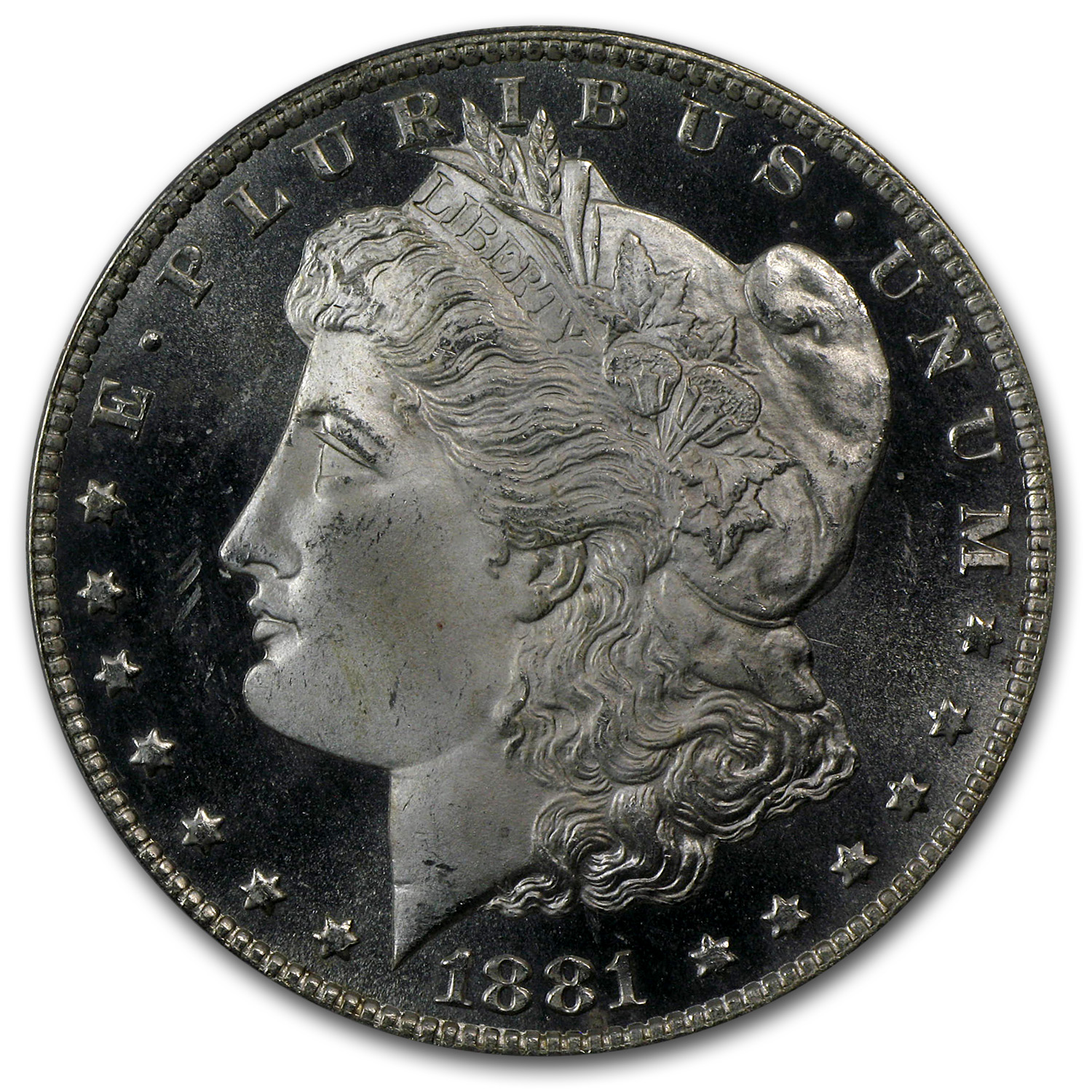 1881-CC Morgan Dollar MS-66 PL Proof Like PCGS