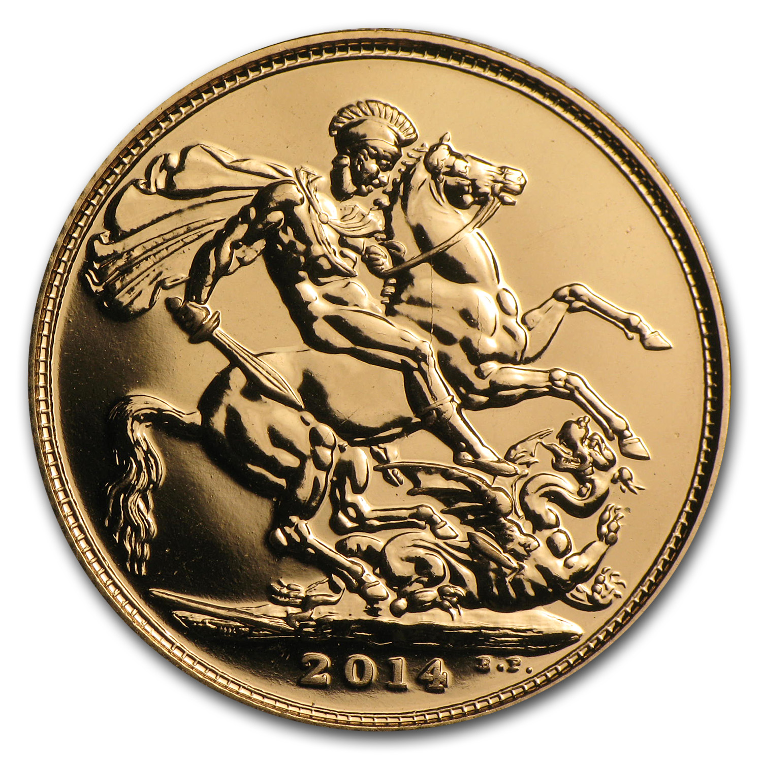 Great Britain 2014 Gold Sovereigns (New) AGW .2354