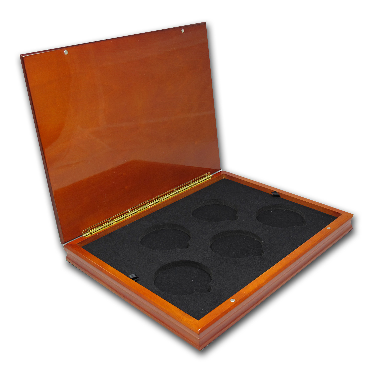 Custom Wood Display Box for 5-Coin ATB sets (Imperfect)