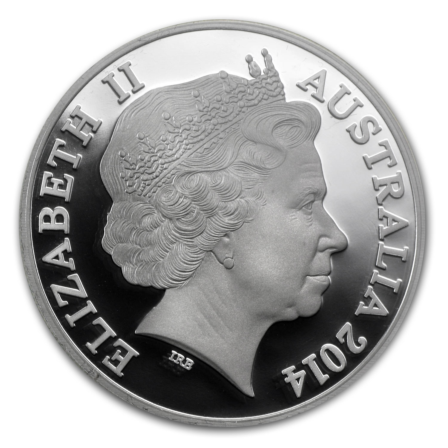 Royal Australian Mint 2014 Silver Graham Colorized Proof