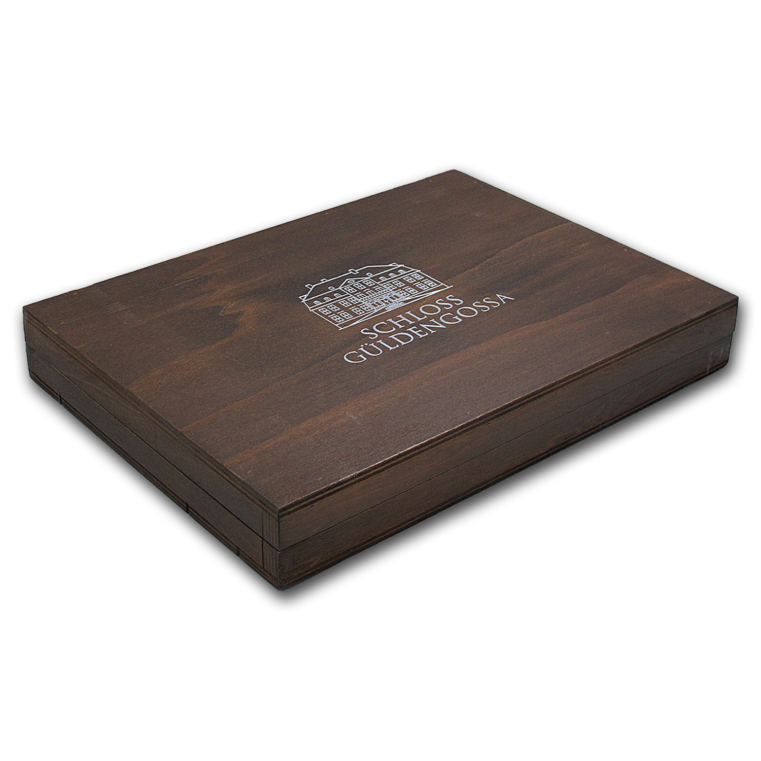 Geiger Edelmetalle Wood Storage Box for 10 oz Silver Bars