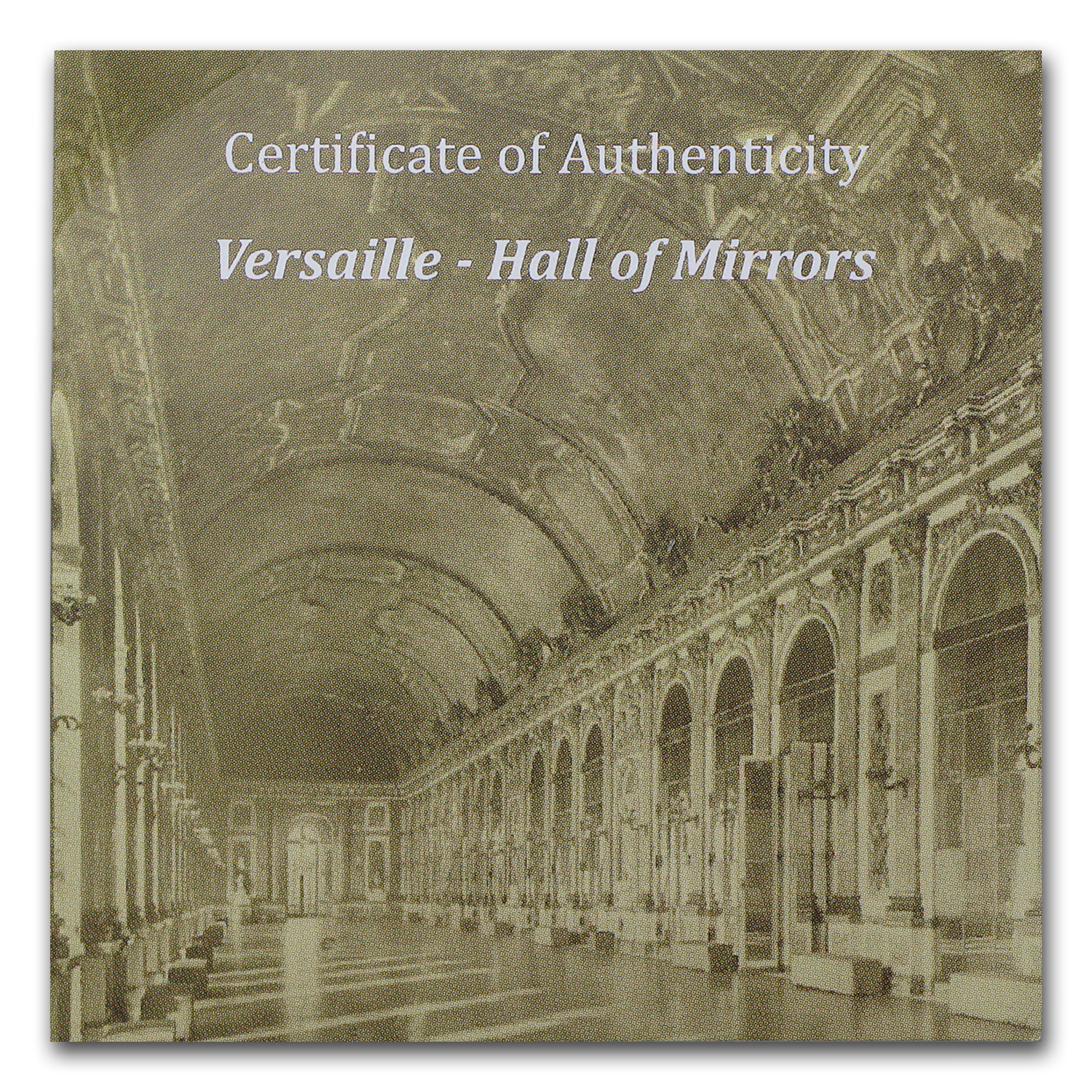 Palau 2013 Silver Proof $10 Versailles - Hall of Mirrors
