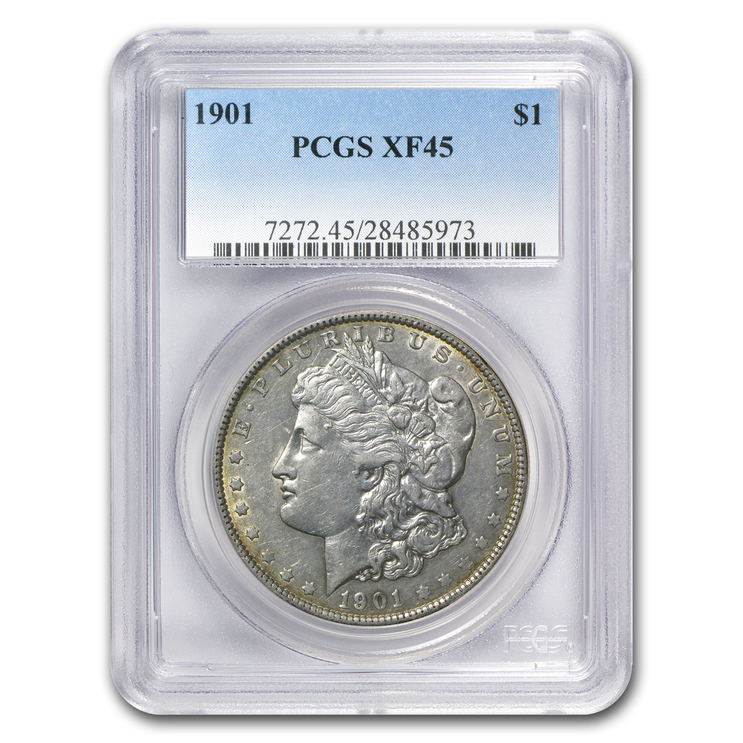 1901 Morgan Dollar XF-45 PCGS