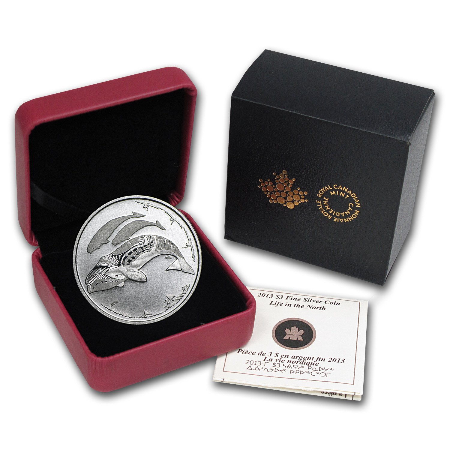 2013 Silver Canada 100th Anniv of Arctic Expedition (Damaged Box)