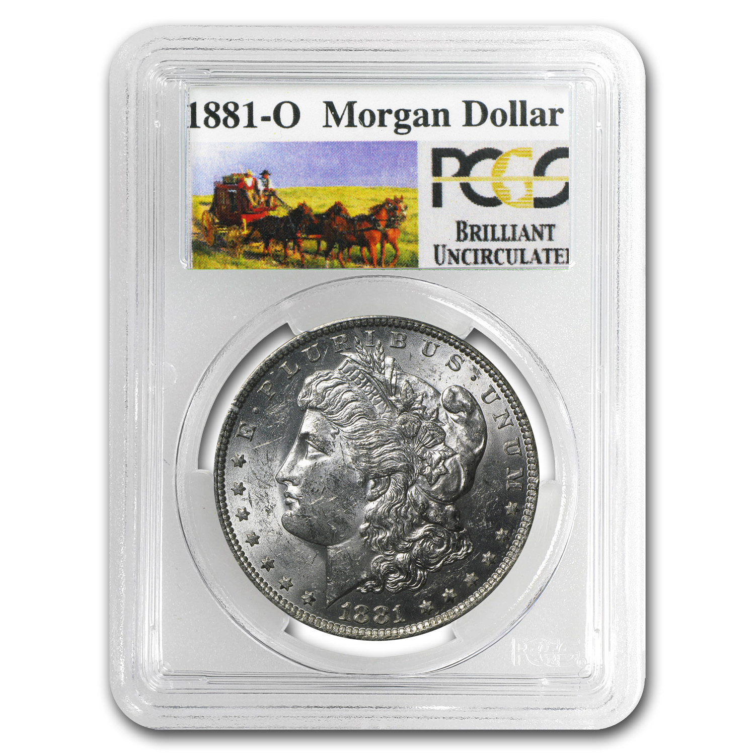 1878-1904 20-Different Stage Coach Morgan Dollars BU PCGS