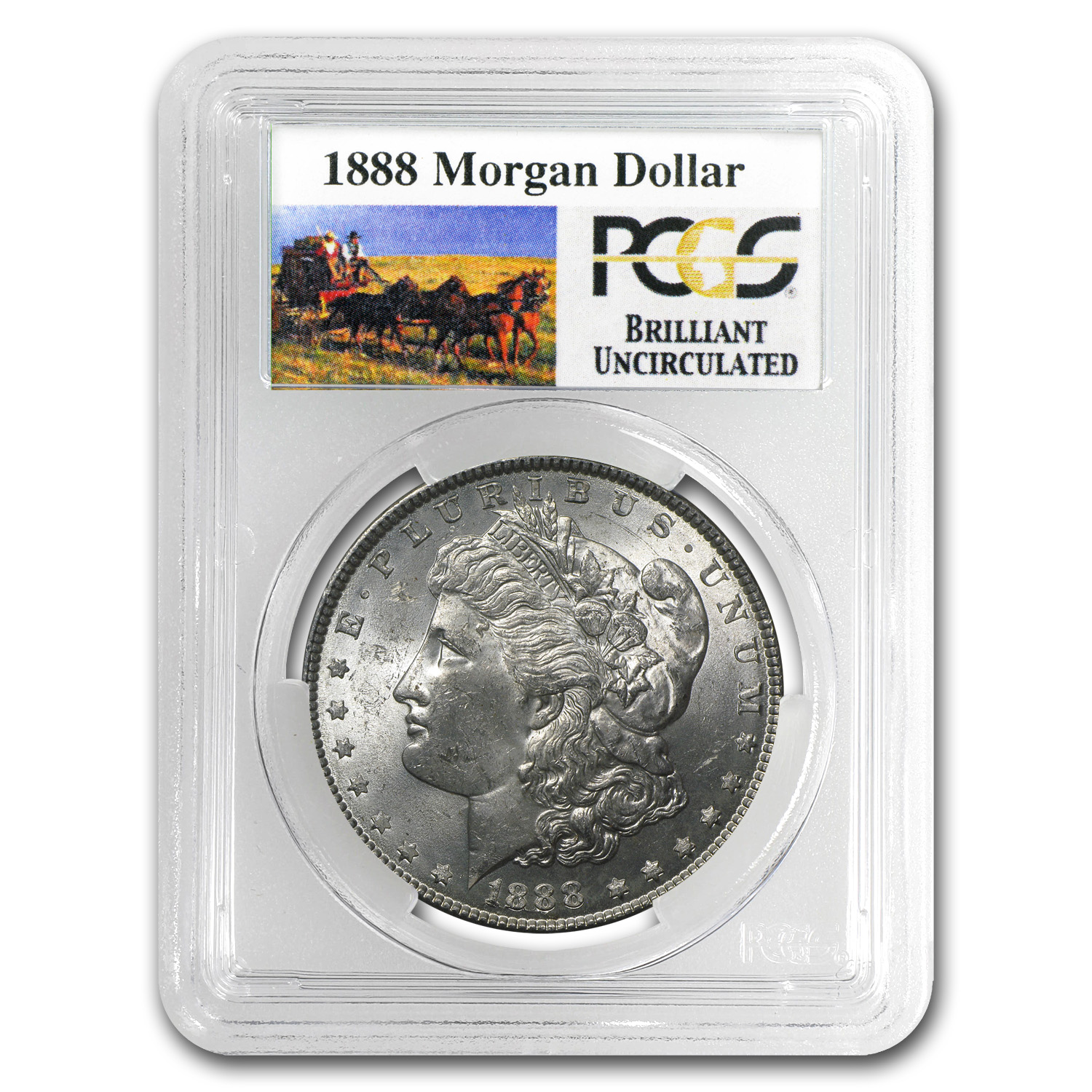 1878-1904 Stage Coach Morgan Dollars - PCGS (BU) 20 Different Co