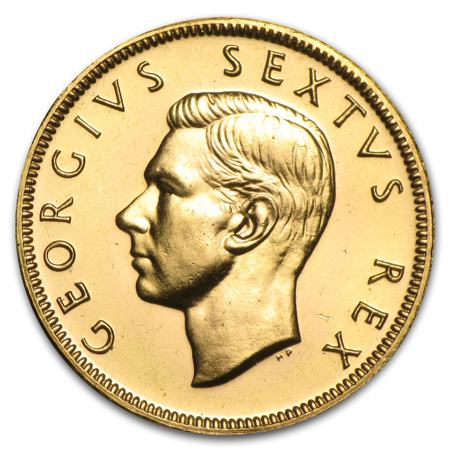 1952 South Africa Gold 1 Pound George VI BU/Proof