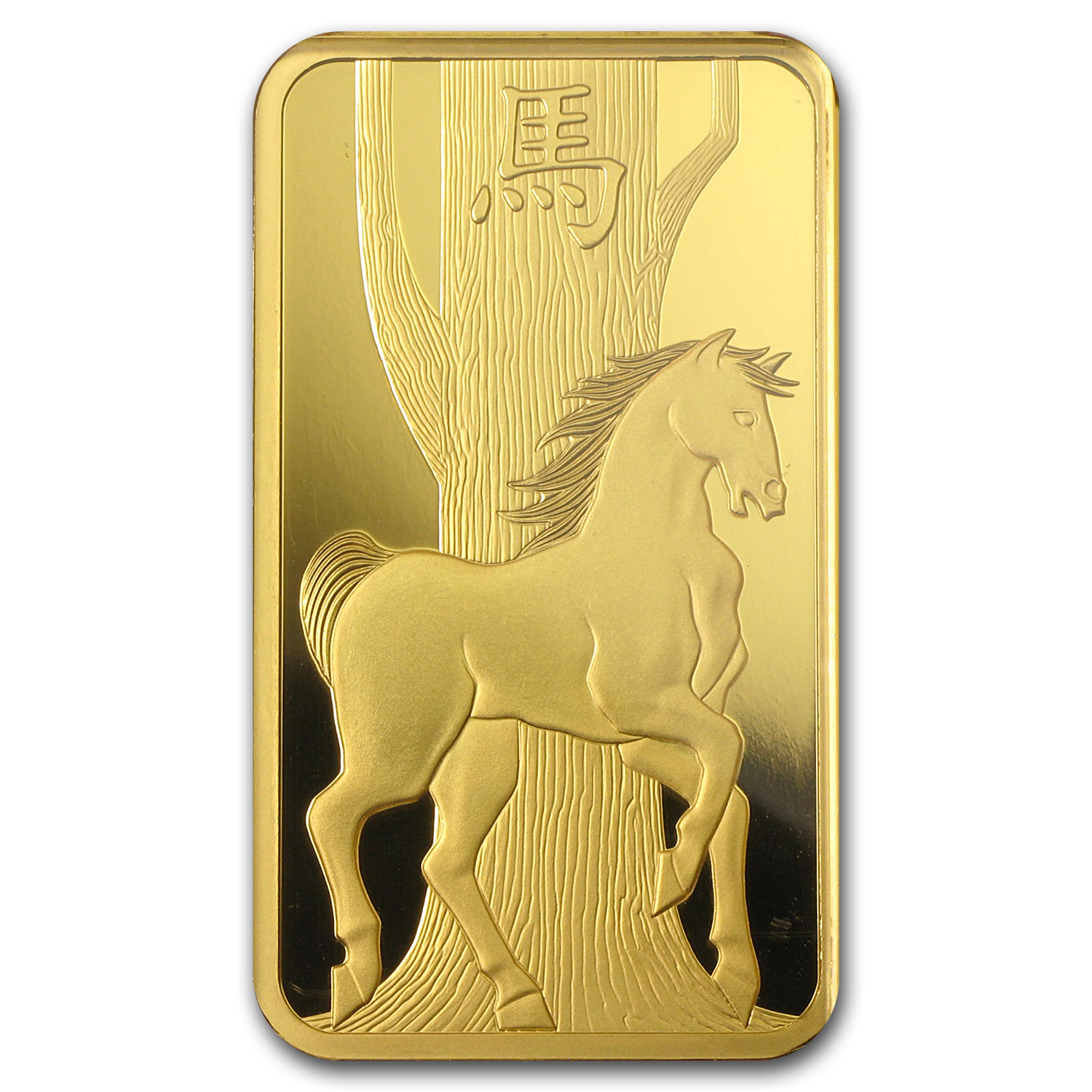 100 gram Gold Bars - Pamp Suisse (Year of the Horse, in Assay)