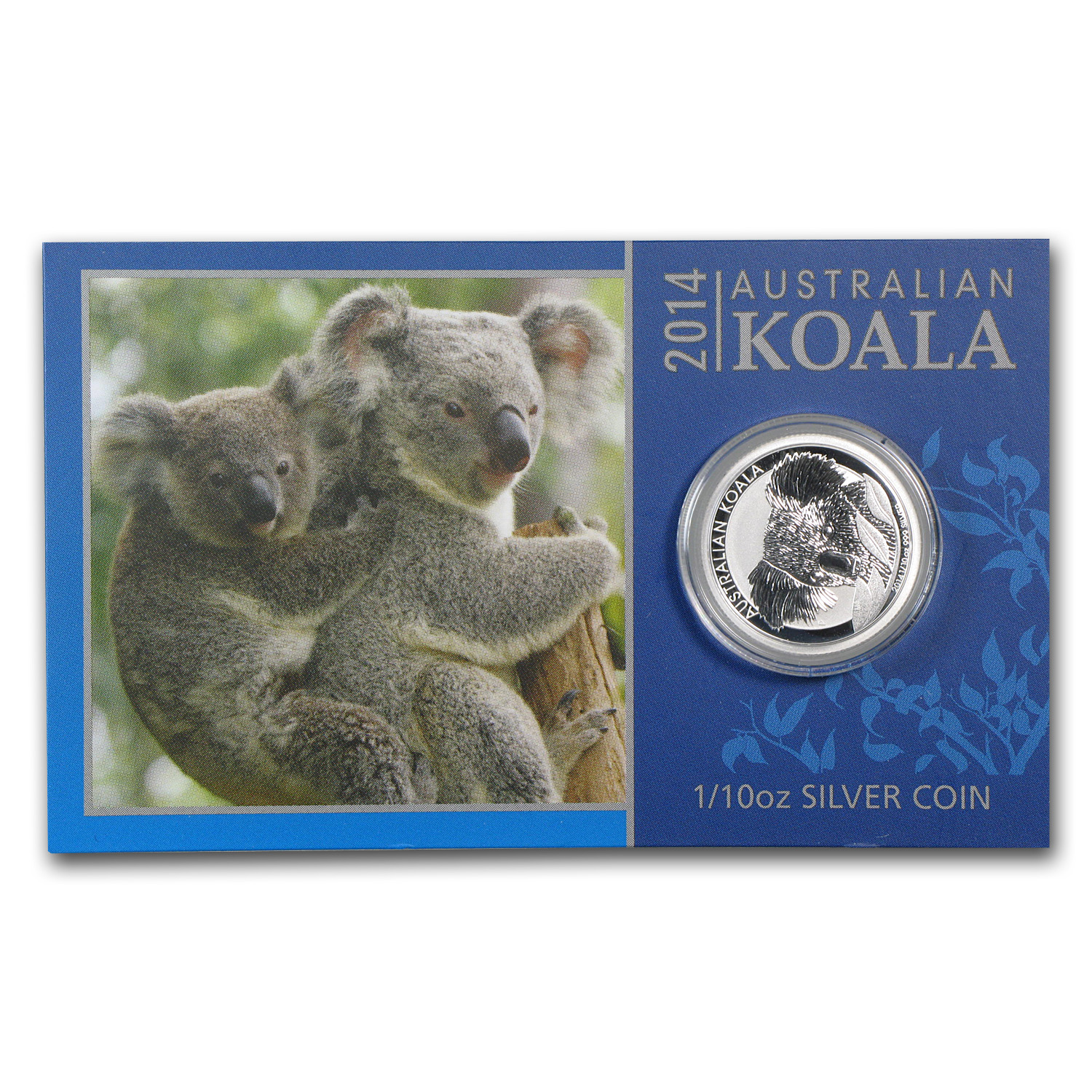 2014 1/10 oz Silver Australian Koala (In display card)