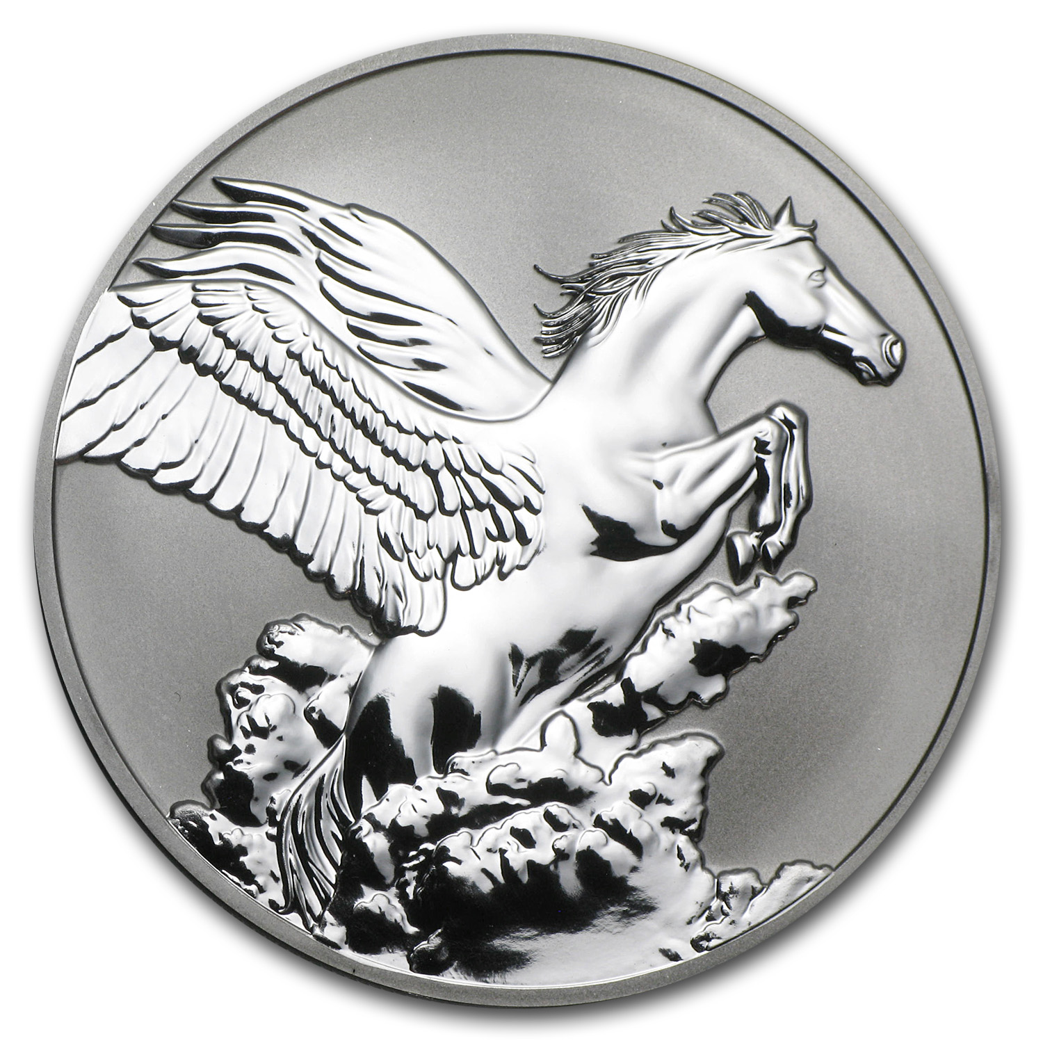 2014 Tokelau 1 oz Silver $5 Pegasus Reverse Proof