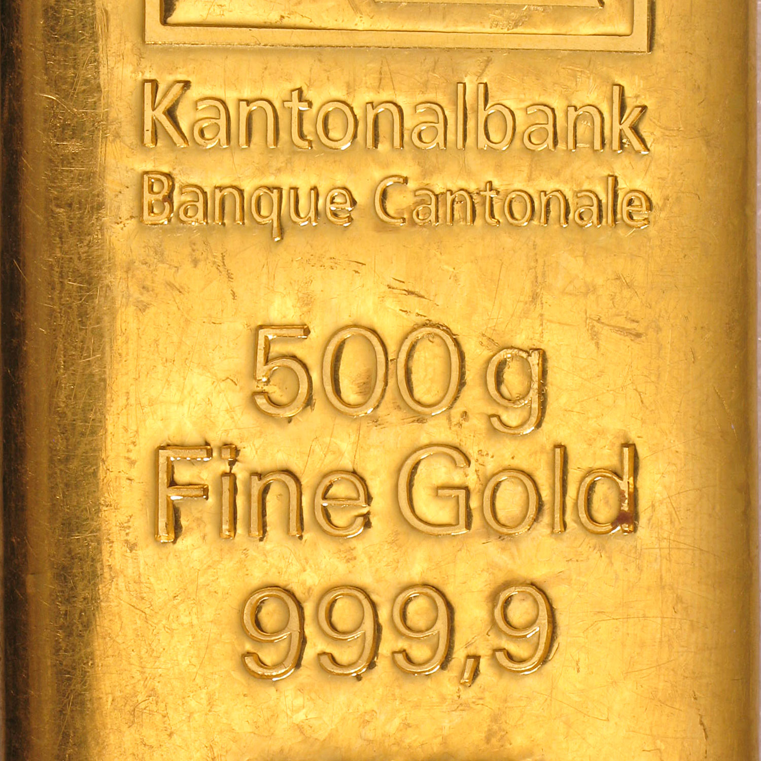500 gram Gold Bar - Secondary Market