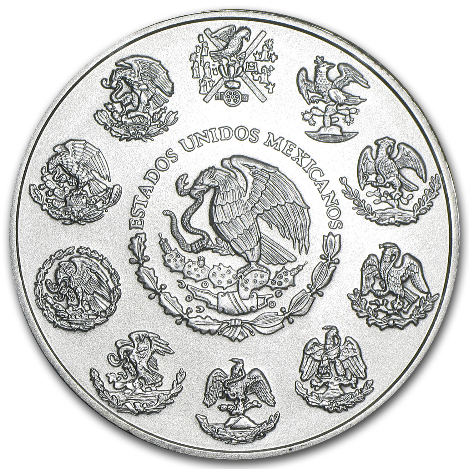 2013 1 oz Silver Mexican Libertad (25-Coin MintDirect® Tube)