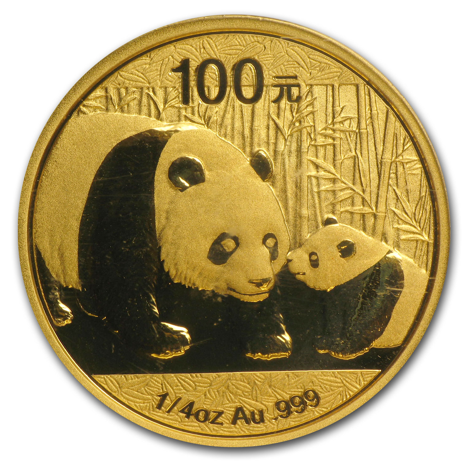 2011 (1/4 oz) Gold Chinese Panda - MS-70 PCGS (First Strike)