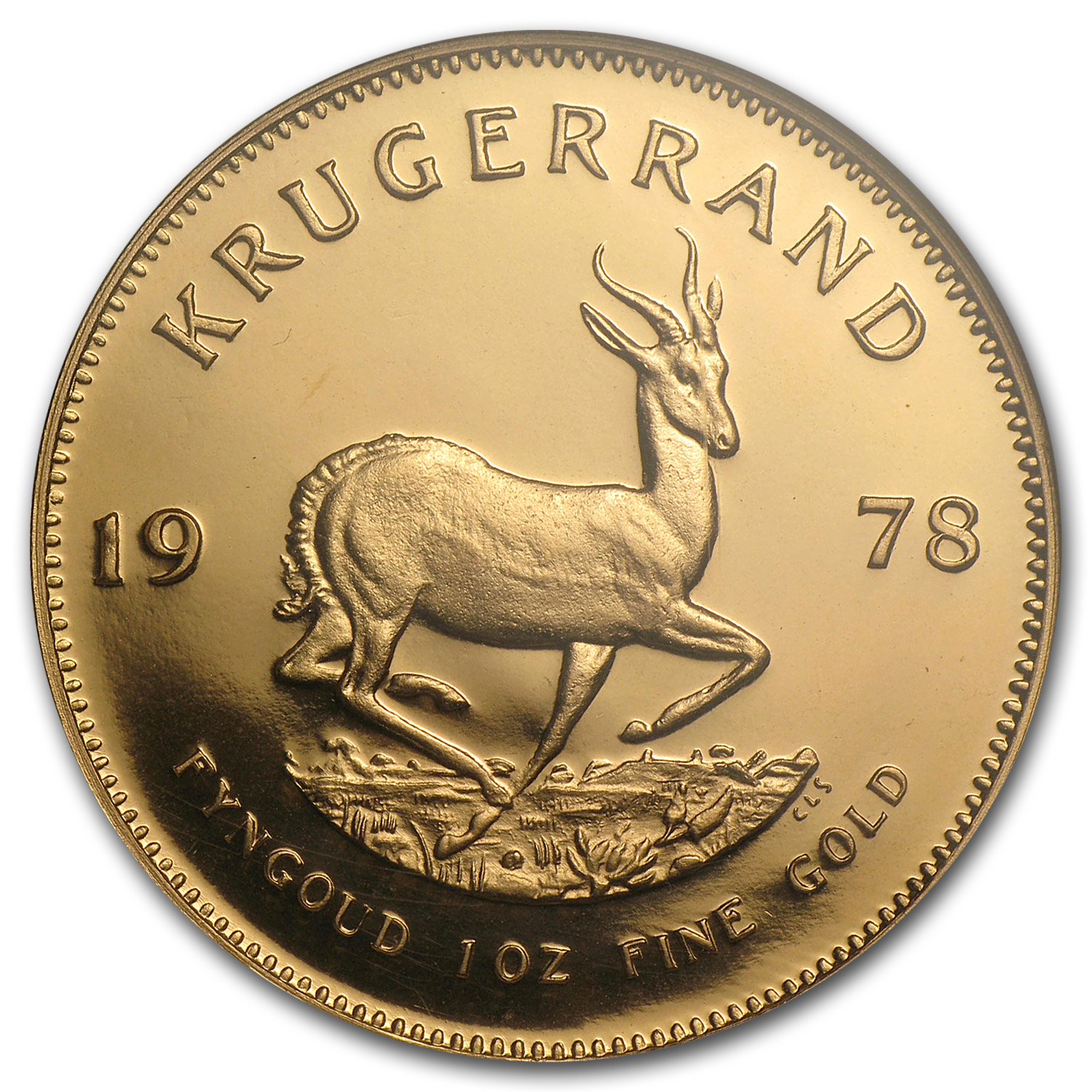 1978 South Africa 1 oz Gold Krugerrand PF-68 NGC