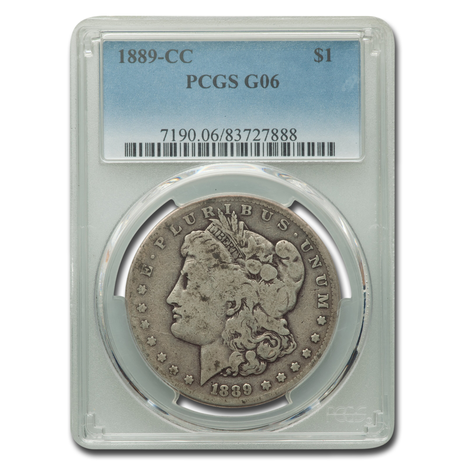 1889-CC Morgan Dollar Good-6 PCGS