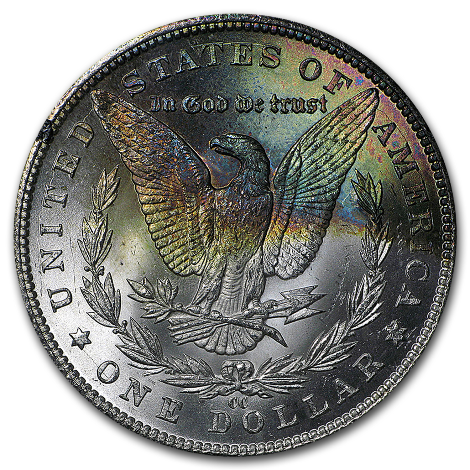 1885-CC Morgan Dollar BU - GSA Holder - Beautiful Toning