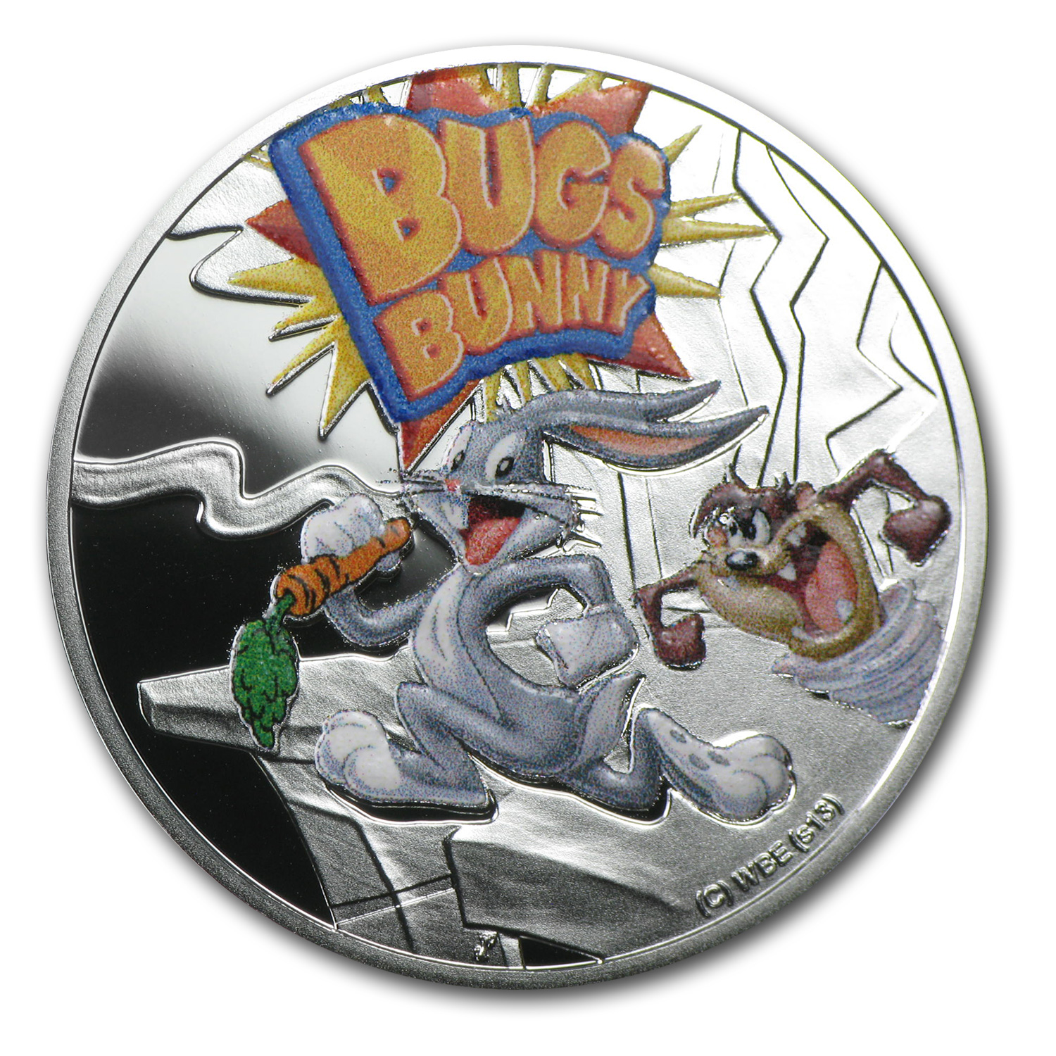 2013 Niue Proof Silver $1 Cartoon Characters Bugs Bunny