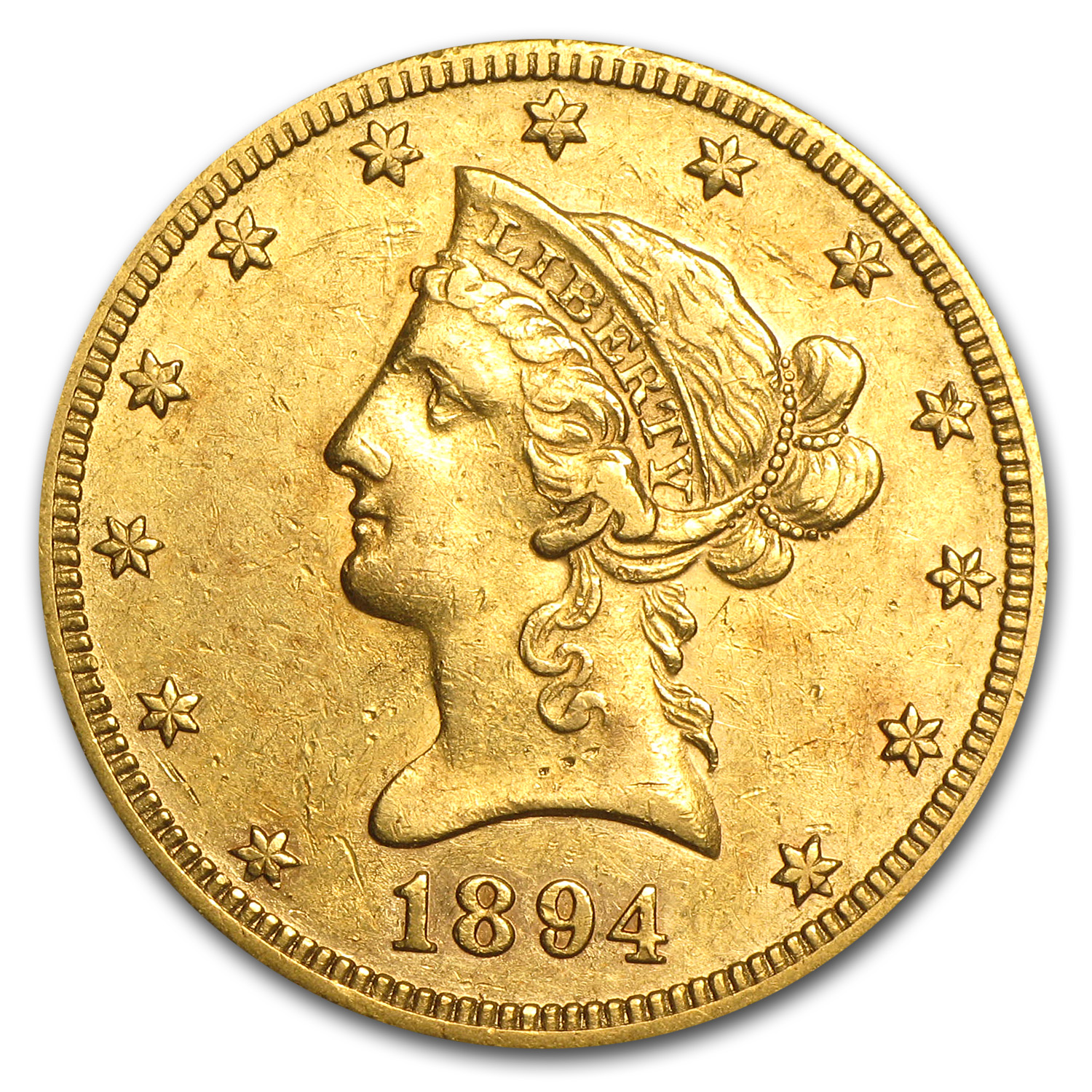 1894-O $10 Liberty Gold Eagle Extra Fine