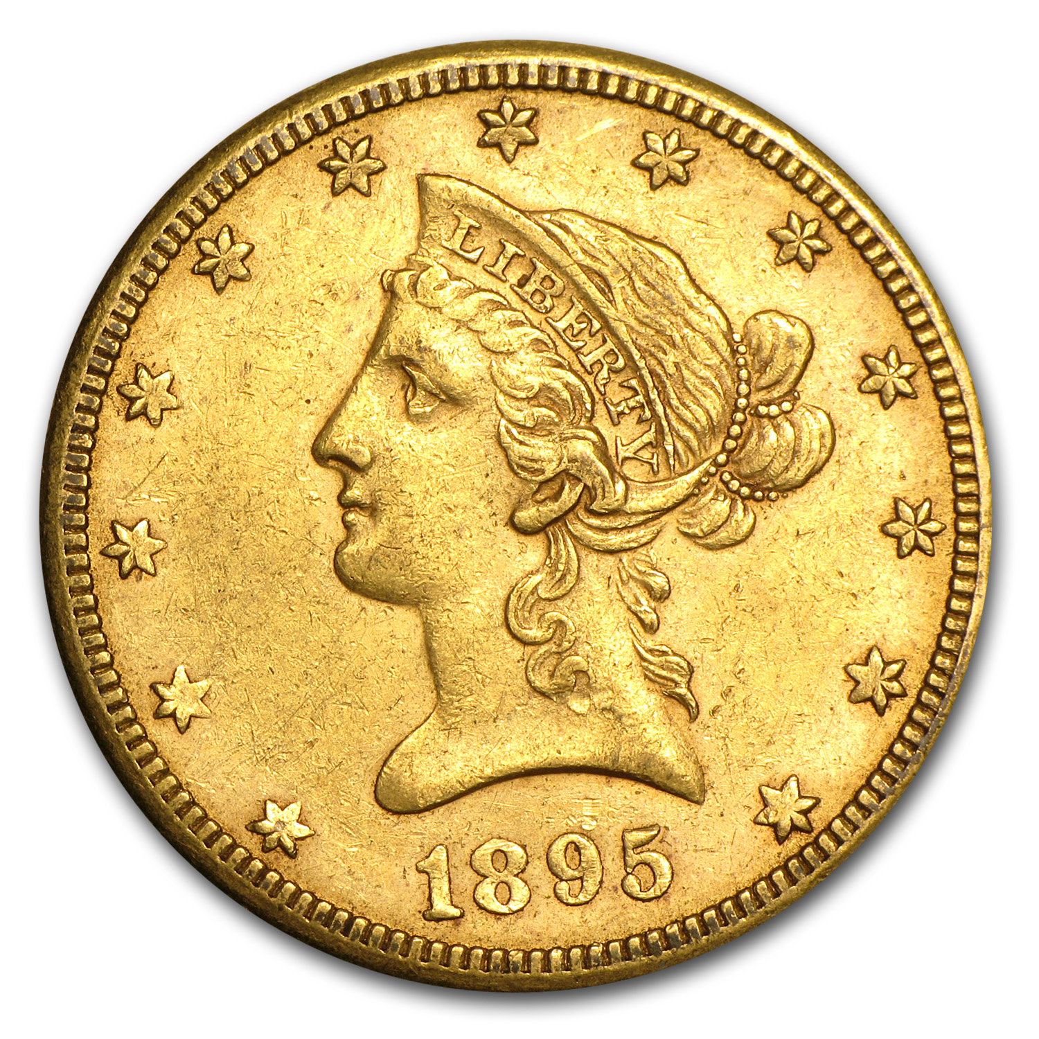 1895-O $10 Liberty Gold Eagle XF
