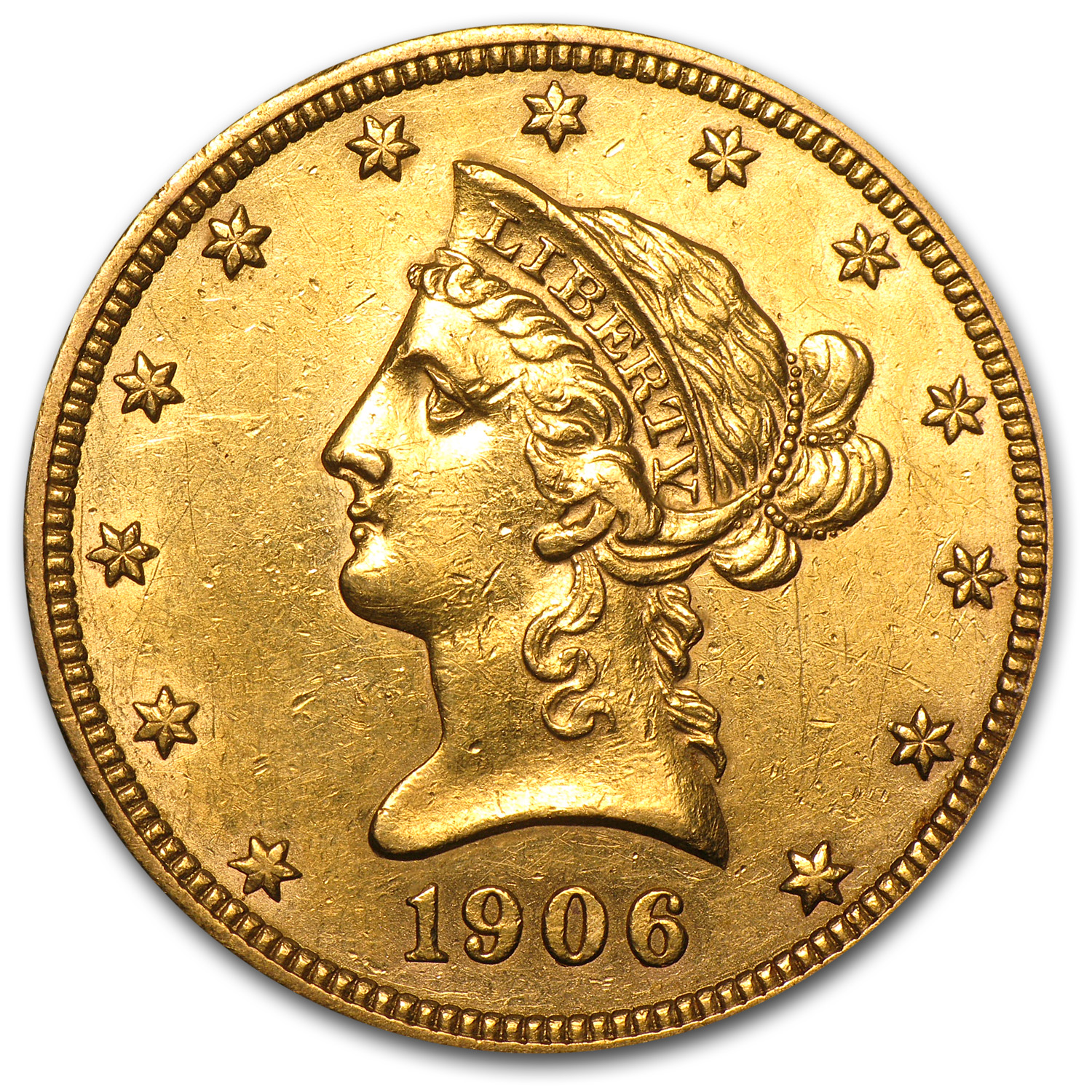 1906-O $10 Liberty Gold Eagle XF