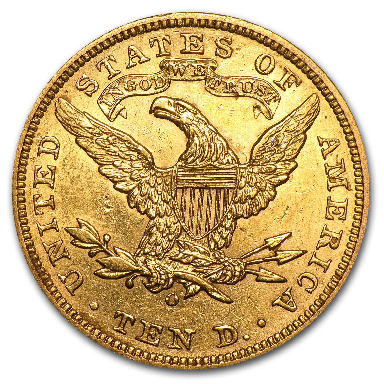 1906-O $10 Liberty Gold Eagle - Extra Fine