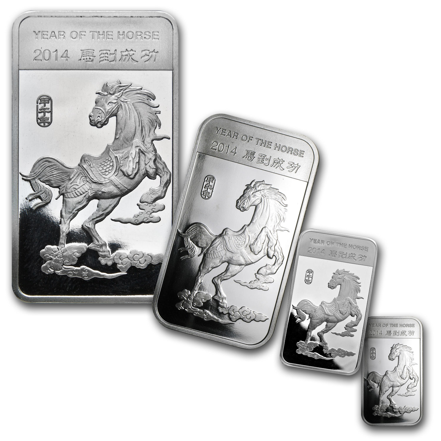 9-Piece APMEX - Year of the Horse Silver Set (.999 Fine)