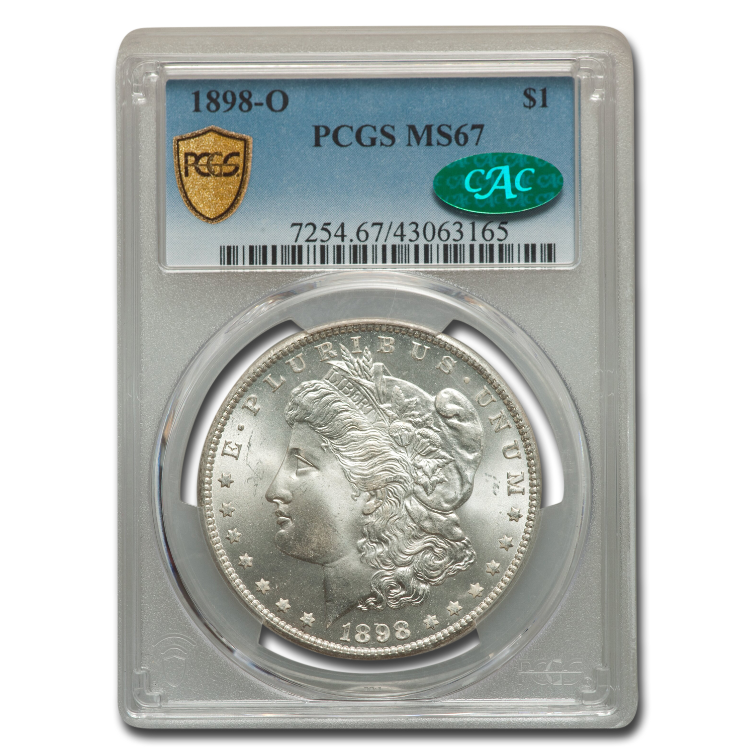 1898-O Morgan Dollar MS-67 PCGS