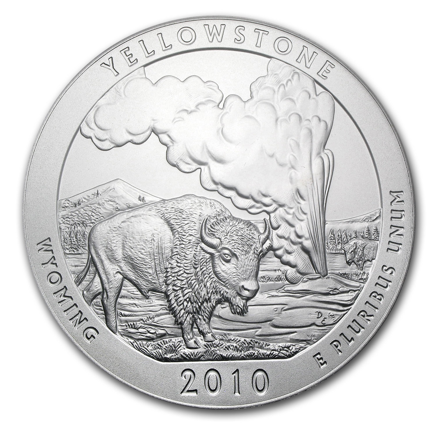 2010 5 oz Silver ATB Yellowstone (Sealed Monster Box)