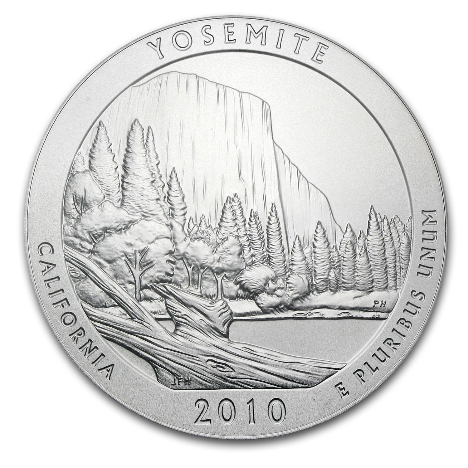 2010 5 oz Silver ATB Yosemite (Sealed Monster Box)