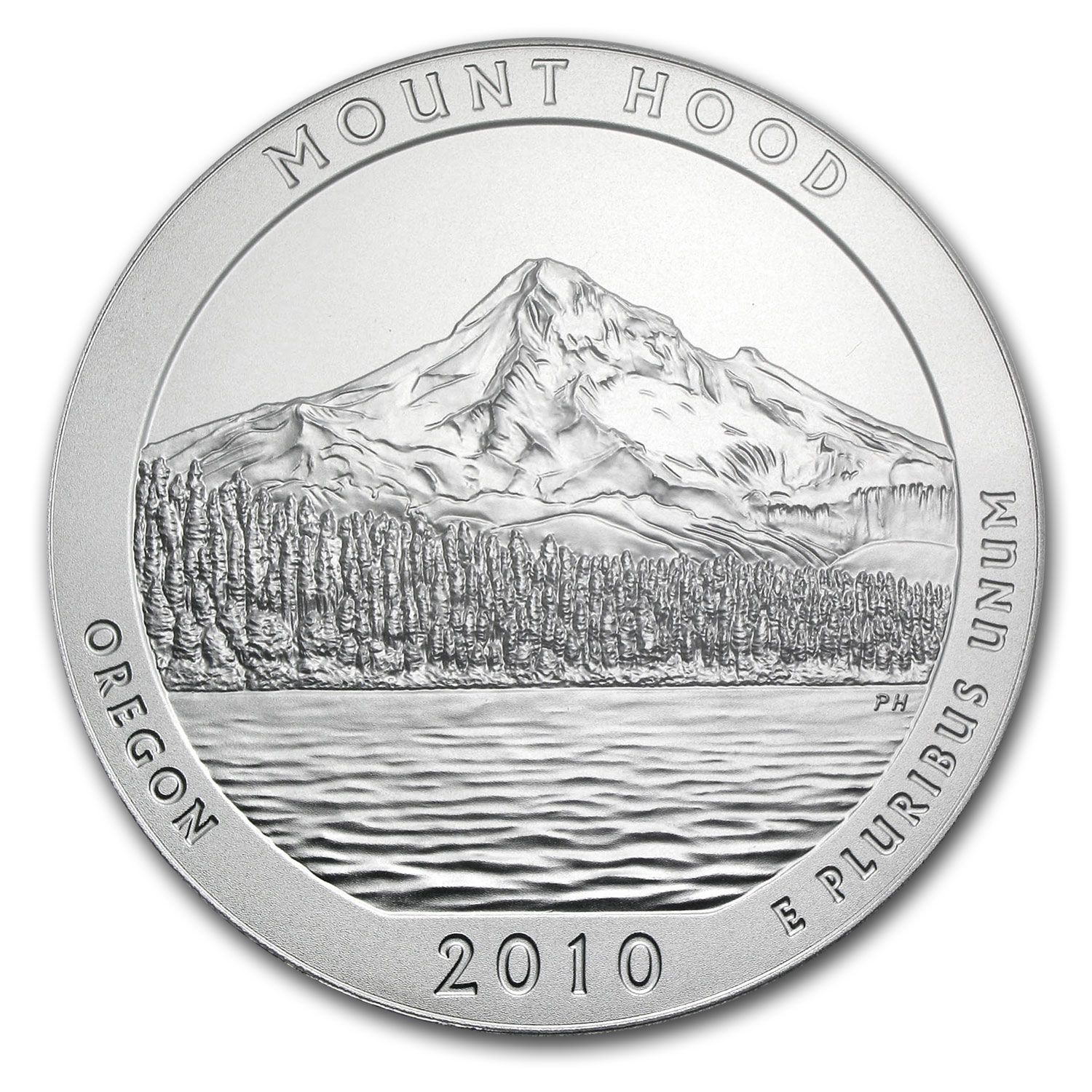 2010 5 oz Silver ATB Mount Hood (Sealed Monster Box)