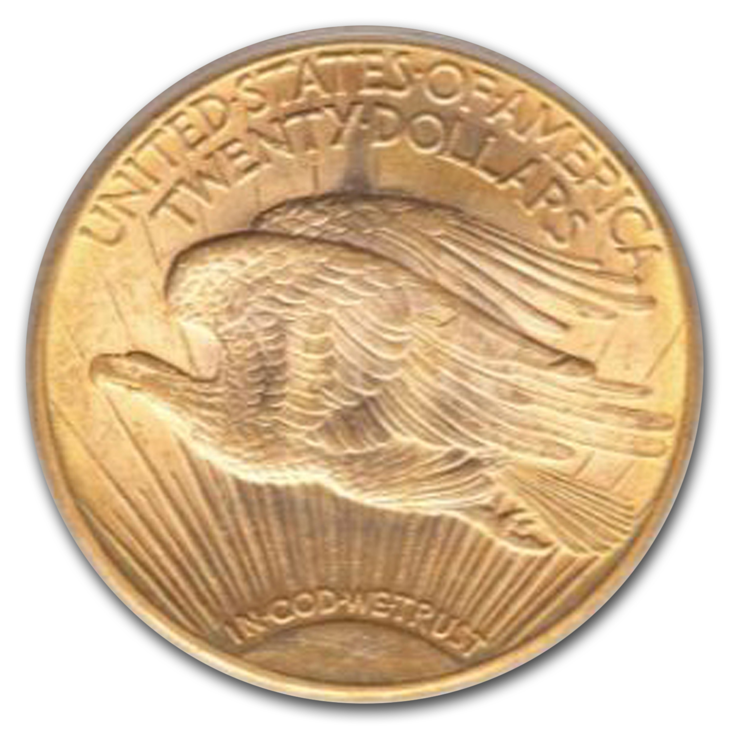 1925-D $20 St. Gaudens Gold Double Eagle MS-62 PCGS