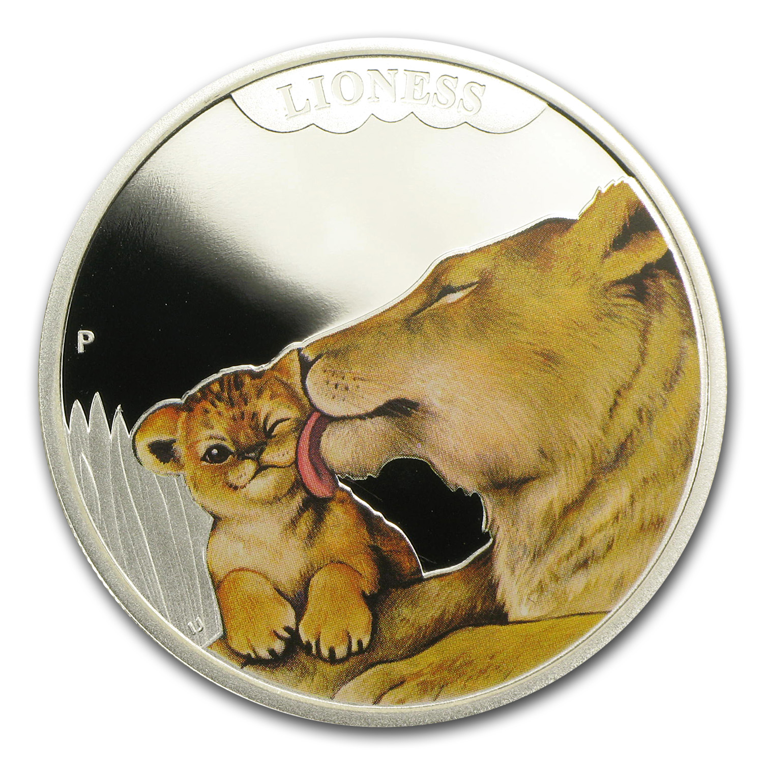 2014 Australia 1/2 oz Silver Mother's Love Proof (Lioness)