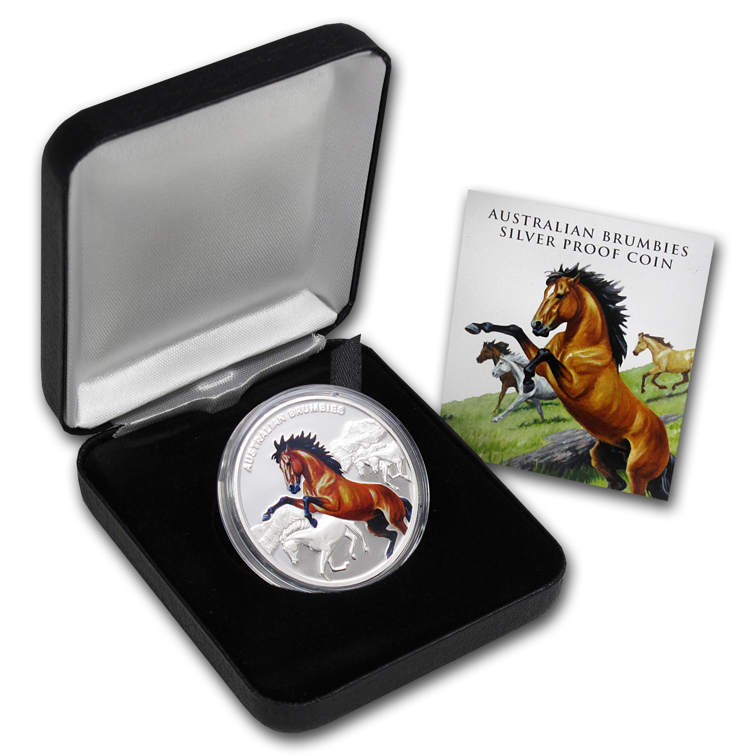 Niue 2014 Silver Proof Legendary Horse - Australian Brumbies