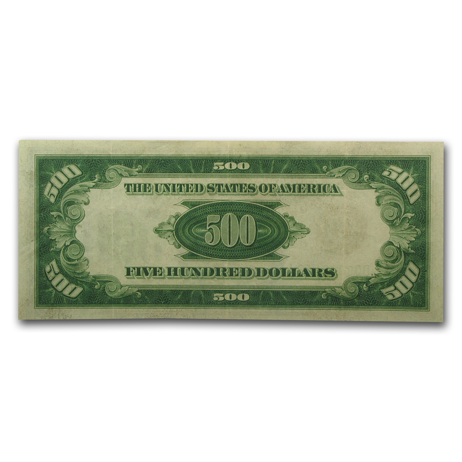 1934 (D-Cleveland) $500 FRN LGS PMGS (Extra Fine)-40PPQ)