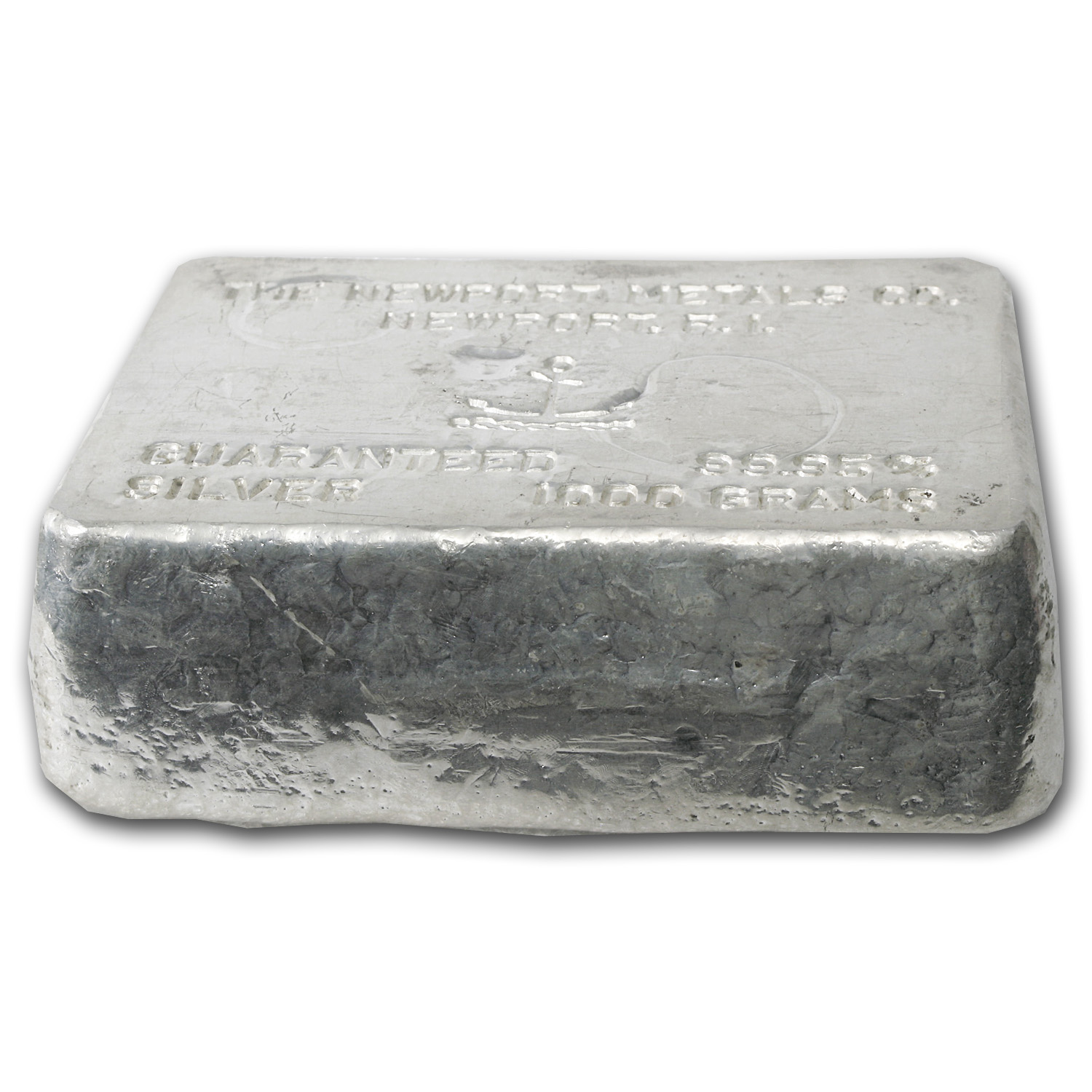 1 Kilo Silver Bars - Newport Metals Co. (1000 Gram)
