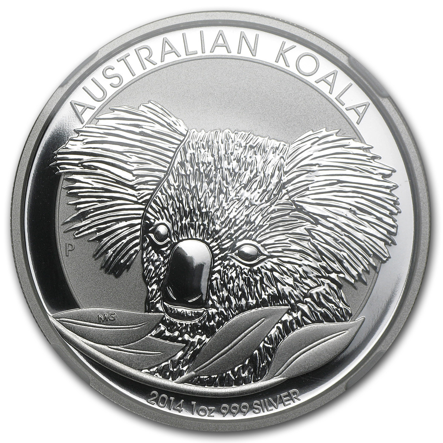 2014 Australia 1 oz Silver Koala MS-70 NGC (Early Releases)