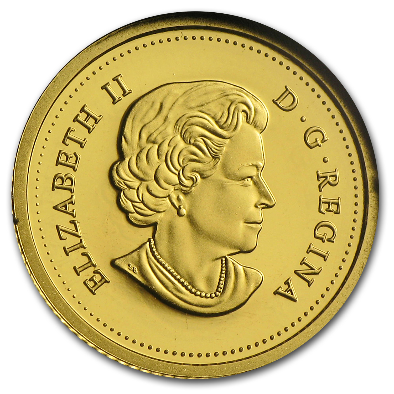 2014 Canada 1/25 oz Proof Gold $0.50 Beaver