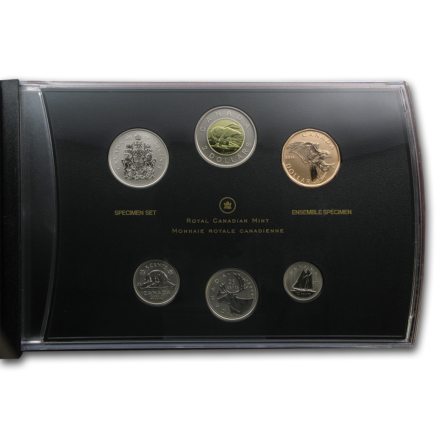 2014 6-Coin Special Edition Ferruginous Hawk Specimen Set