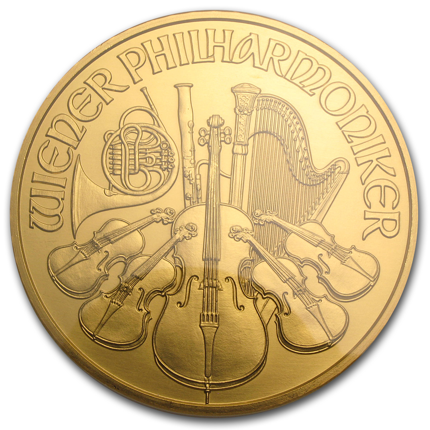 2009 Austria 20 oz Gold Philharmonic MS-66 NGC (20th Ann)