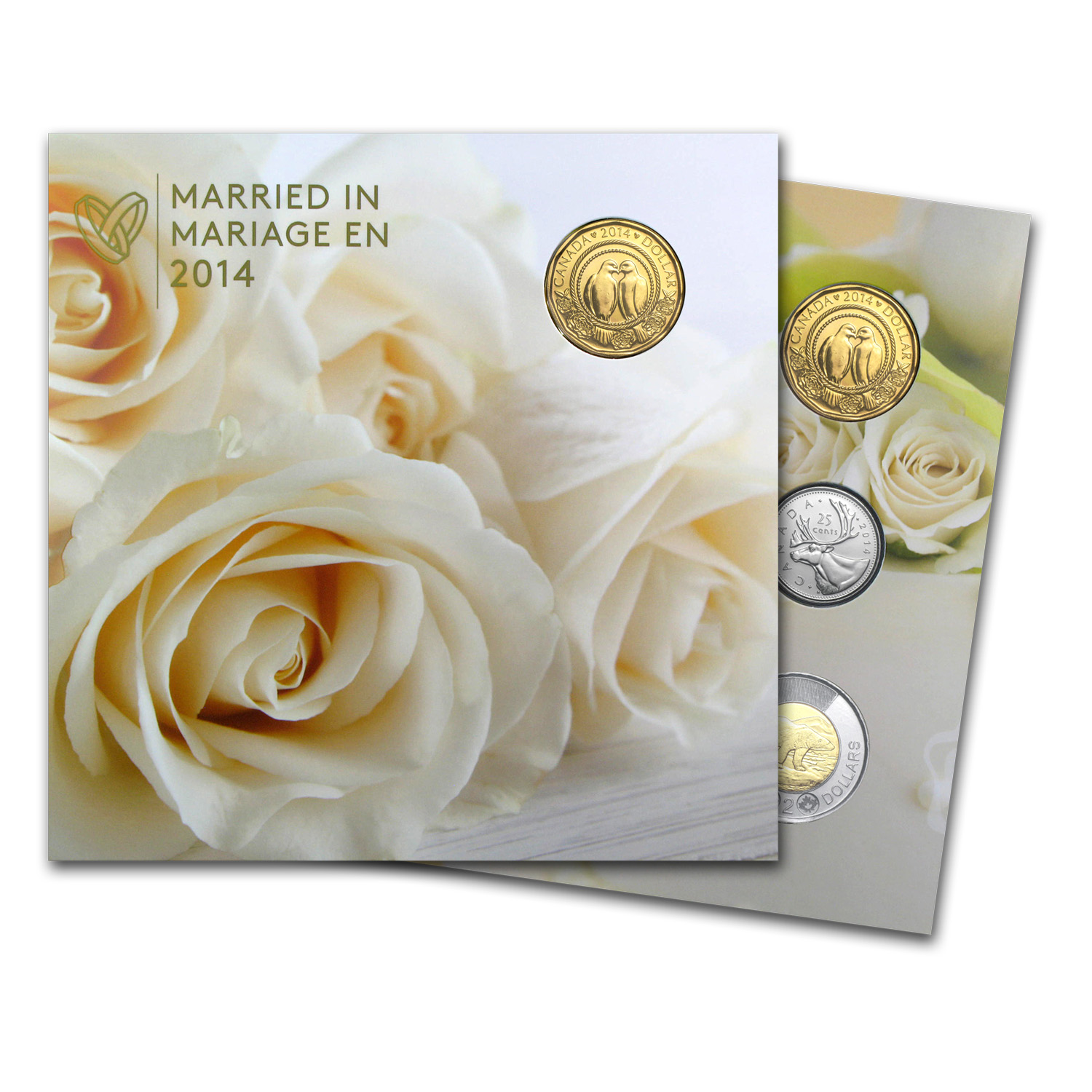 2014 5-Coin Canada Wedding Gift Set