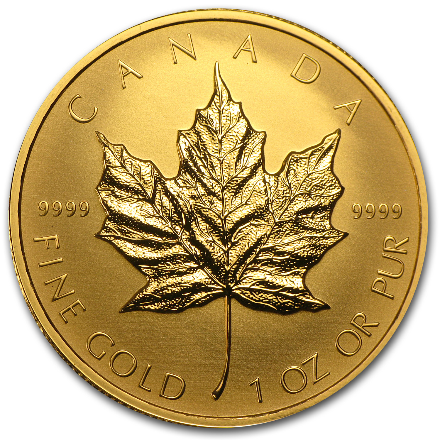2014 Canada 1 oz Reverse Proof Gold Maple Leaf