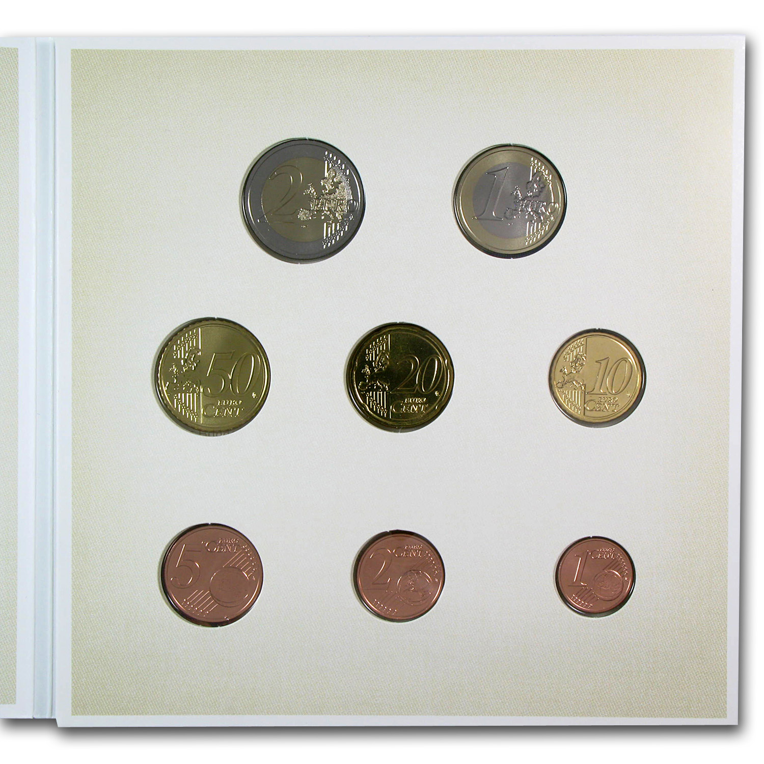 2014 Austria 8-Coin Unforgettable Baby Euro Set