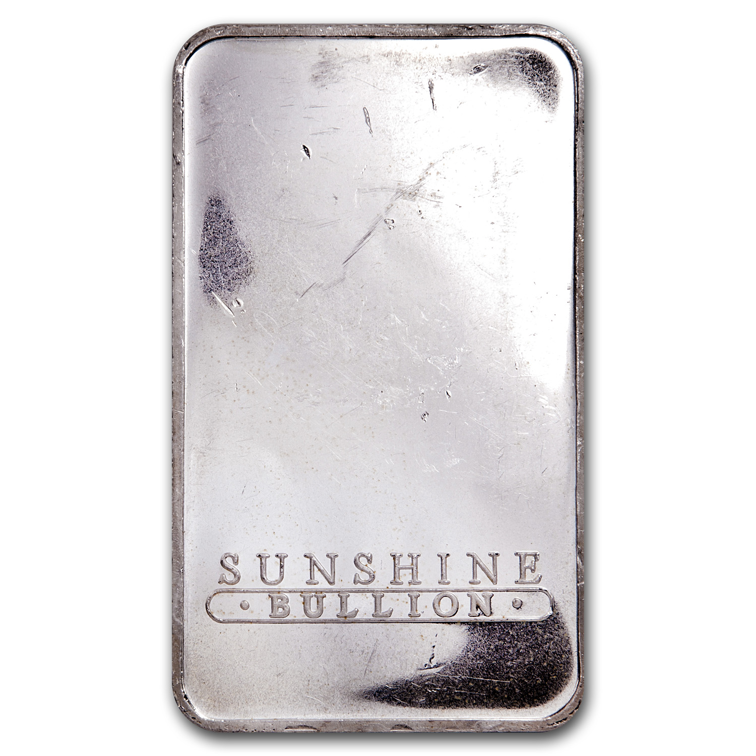 10 oz Silver Bars - Sunshine (Vintage)