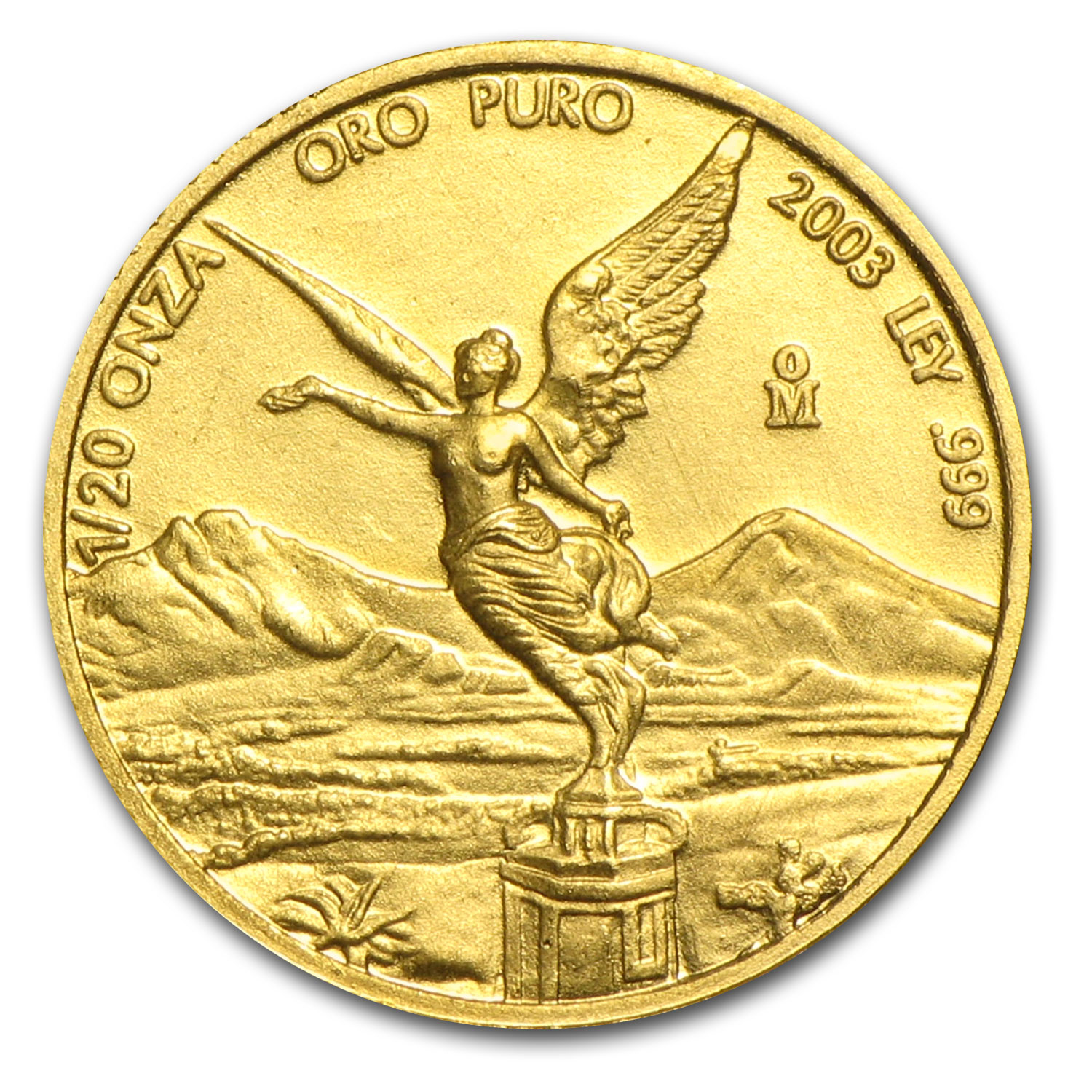 2003 1/20 oz Gold Mexican Libertad (Brilliant Uncirculated)