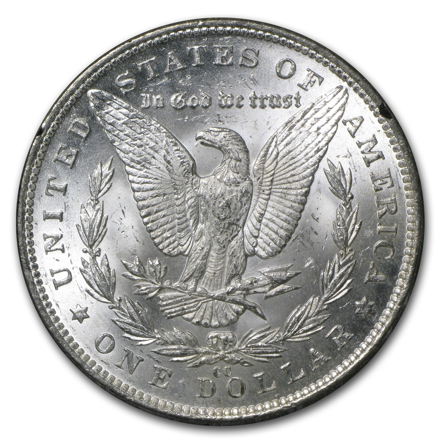 1891-CC Morgan Dollar MS-62 NGC VAM-3 Spitting Eagle Top-100 GSA