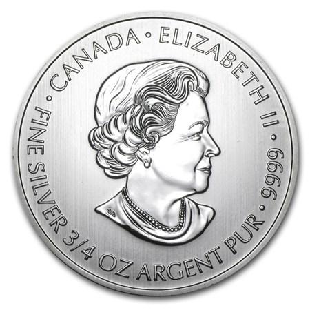 2013 Canada 3 4 Oz Silver 2 Devil S Brigade 2013 Rcm