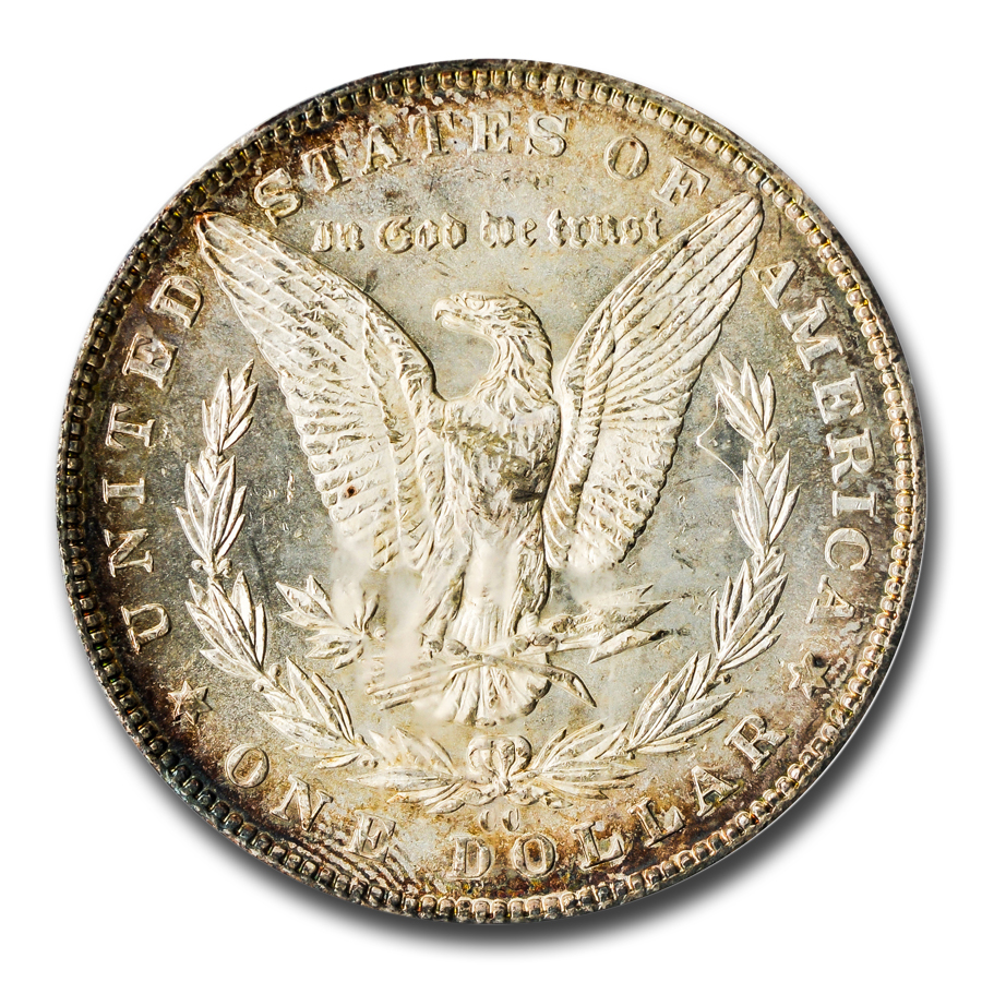 1893-CC Morgan Dollar MS-64 PCGS
